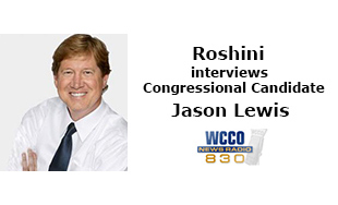 Roshini interviews Congressional Candidate Jason Lewis