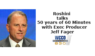 Roshini goes inside 50 years of 60 Minutes on CBS with executive producer Jeff Fager