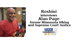 Roshini interviews Alan Page