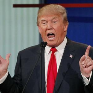 Donald Trump hand gestures