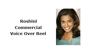 Roshini Commercial Voice Over Reel