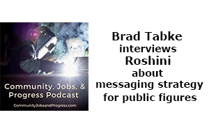 Brad Tabke interviews Roshini