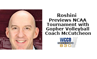 Roshini interviews Volleyball Coach Hugh McCutcheon