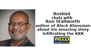 Roshini chats with Ron Stallworth about his amazing story of infiltrating the KKK in Colorado as a police detective.