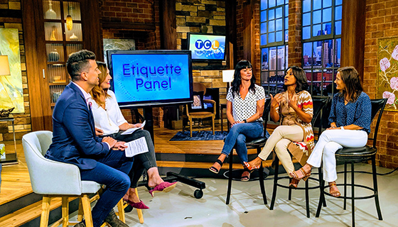 Twin Cities Live KSTP Etiquette Panel