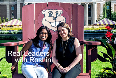 Real Leaders with Roshini: Joan Gabel