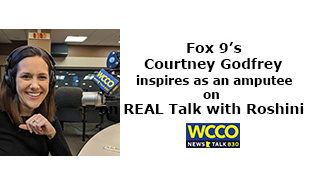 Courtney Godfrey on REAL Talk with Roshini