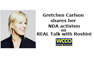 Gretchen Carlson shares her NDA activism