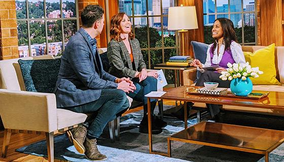 Roshini talks Love Languages on Twin Cities Live ABC Minneapolis