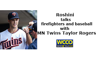 Roshini interviews MN Twin Taylor Rogers