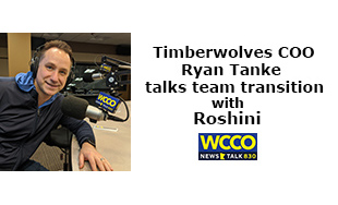 TWolves Ryan Tanke on Real Talk with Roshini