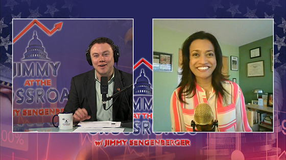Jimmy at the Crossroads with Roshini
