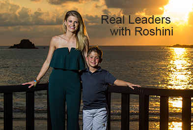 Real Leaders with Roshini: Liz Collin
