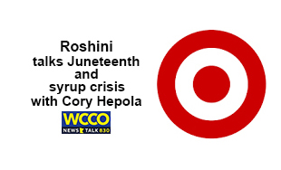 Roshini talks Juneteenth and Syrup crisis with Cory Hepola