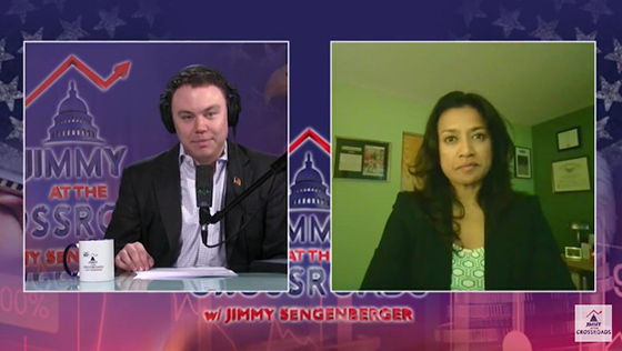 Roshini on Jimmy at the Crossroads