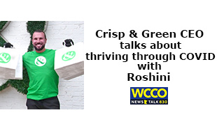Crisp & Green CEO talks about thriving through COVID with Roshini