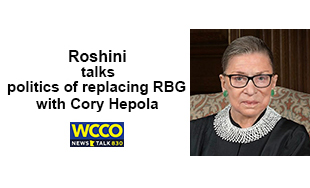 Roshini talks politics of replacing Ruth Bader Ginsberg