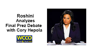 Roshini analyzes Final Presidential Debate