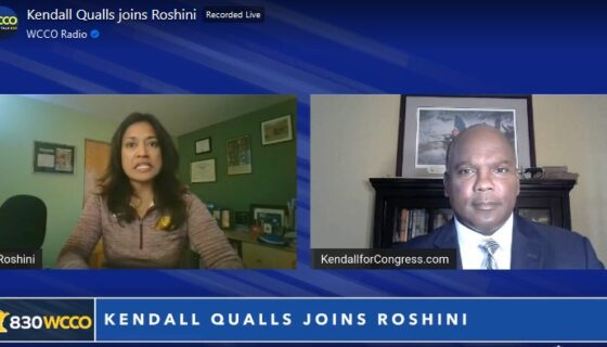 Kendall Qualls joins REAL Talk with Roshini