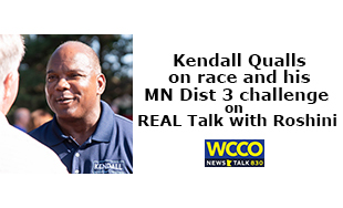 Kendall Qualls on REAL Talk with Roshini WCCO Radio
