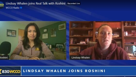 Lindsay Wahlen joins REAL Talk with Roshini