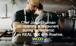 Jorge Guzman on Real Talk with Roshini