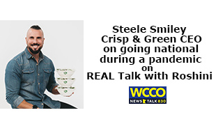 Steele Smiley on REAL Talk with Roshini