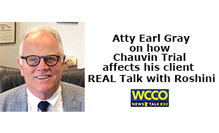 Attorney Earl Gray on REAL Talk with Roshini
