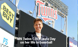 MN Twins CBO Laura Day on REAL Talk with Roshini