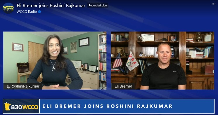 Roshini Facebook Live with Eli Bremer