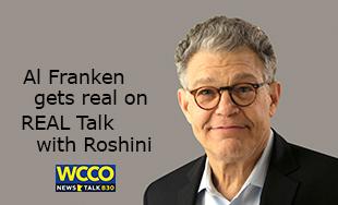Al Franken on REAL Talk with Roshini